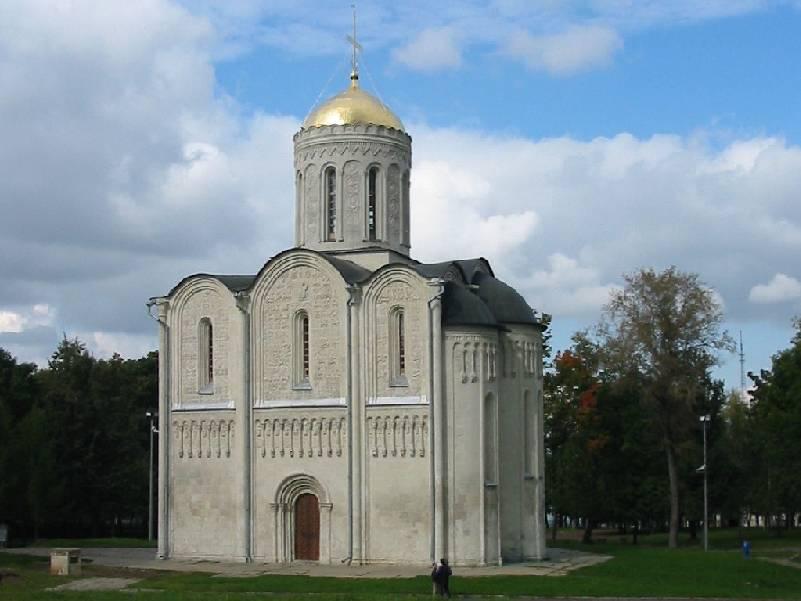 дмитриевский собор фото